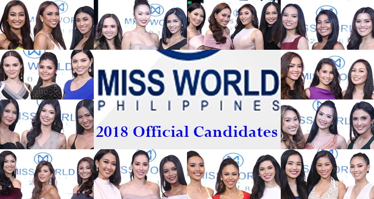 Miss World Philippines 2018 Official Candidates Finally Revealed