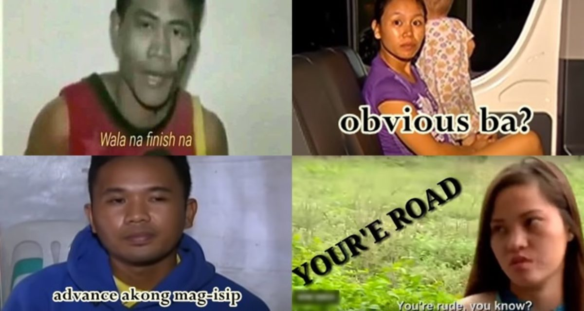 Popular Hilarious Pinoy Memes That Came From Viral Videos