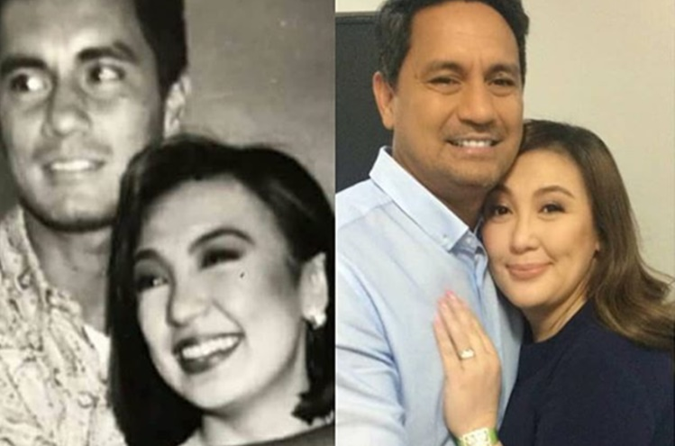 Sharon Cuneta and Richard Gomez
