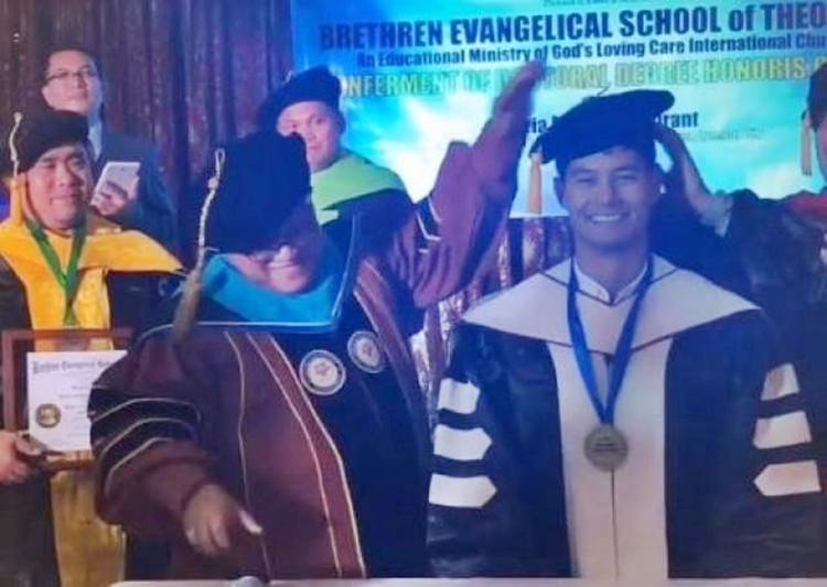 Daniel Matsunaga Doctorate Degree