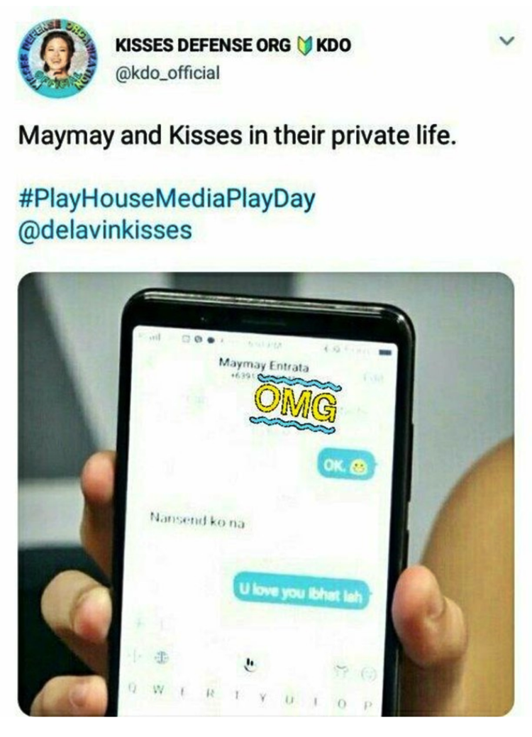 Maymay Entrata Phone Number