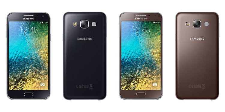 Samsung Galaxy E5 Black, Brown