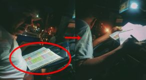 Jeepney Driver Reading Bible While Waiting For Passengers Goes Viral