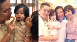 IN PHOTOS: Liz Uy, Raymond Racaza Spotted Celebrating Their Baby Xavi's 1st B-Day