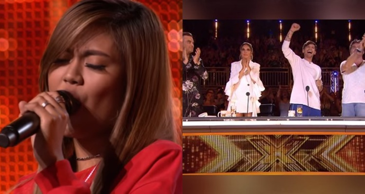 Pinay Maria Laroco Gets Standing Ovation From 'The X-Factor UK' Judges