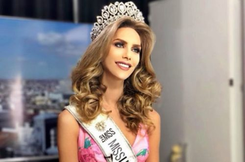 miss spain angela ponce