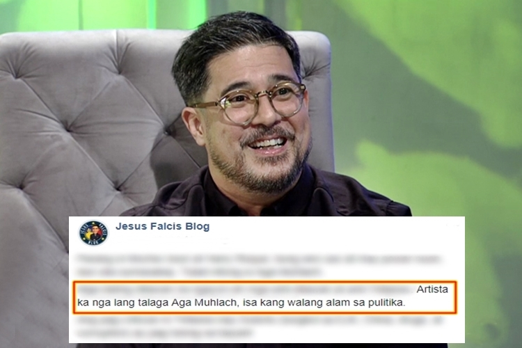 Aga Muhlach Statement
