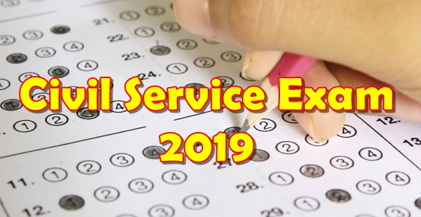 Civil Service Exam 2019 Schedule