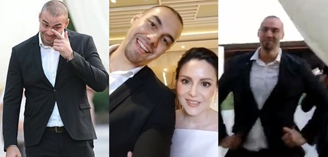 Doug Kramer, Cheska Garcia-Kramer Surprise