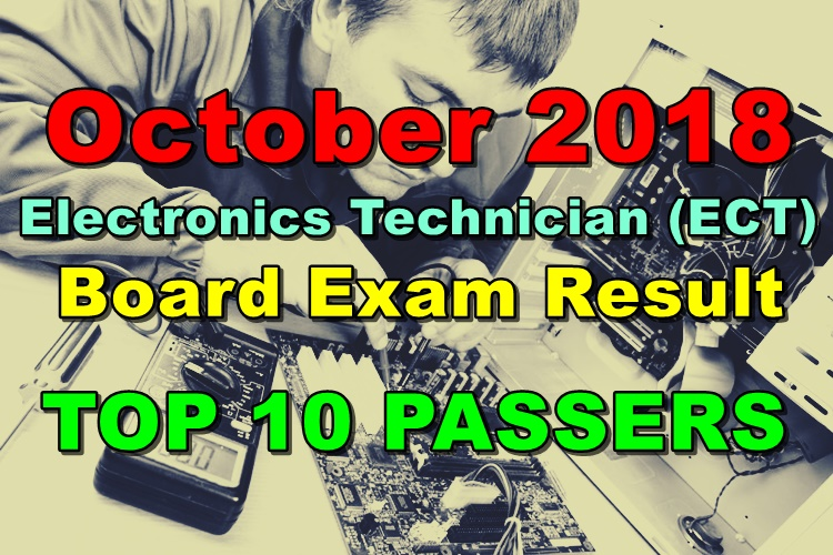 Electronics Technician (ECT) Board Exam Result