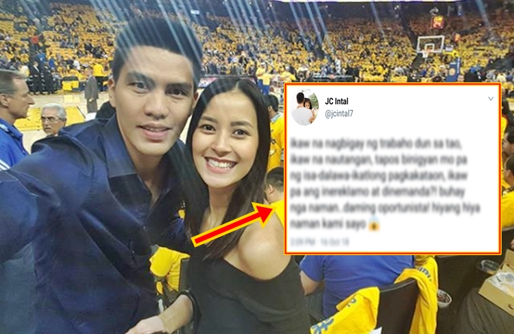 JC Intal Intriguing Post