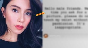 "LOOK: Jessy Mendiola Posts Request To ""Male Friends"" On Having Photo With Her"
