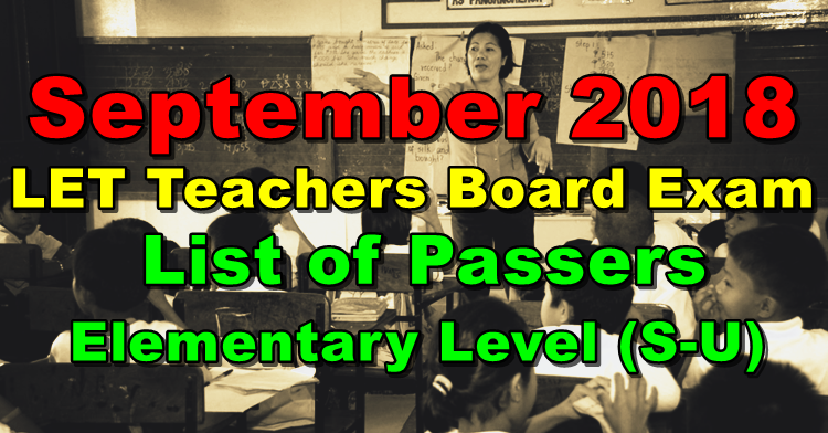 LET Teachers Board Exam Results, LET Board Exam Results, LET, Licensure Exam for Teachers, Teachers, Teachers Licensure Exam, Philnews.ph, Board Exam, Philippine Trending News