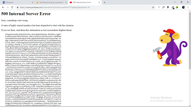 YouTube Experiences Downtime For More Than An Hour
