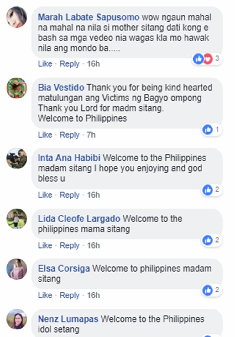 how to say your welcome in philippines