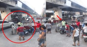 Kind Motorist Forgives Poor Ice Cream Vendor After Scratching His Motorcycle
