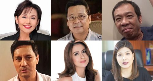 showbiz personalities politics