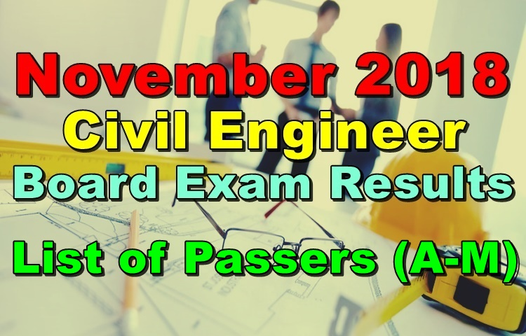 Civil Engineer Board Exam Results