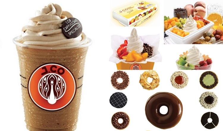 JCO Donuts Menu, J.Co Donuts & Coffee
