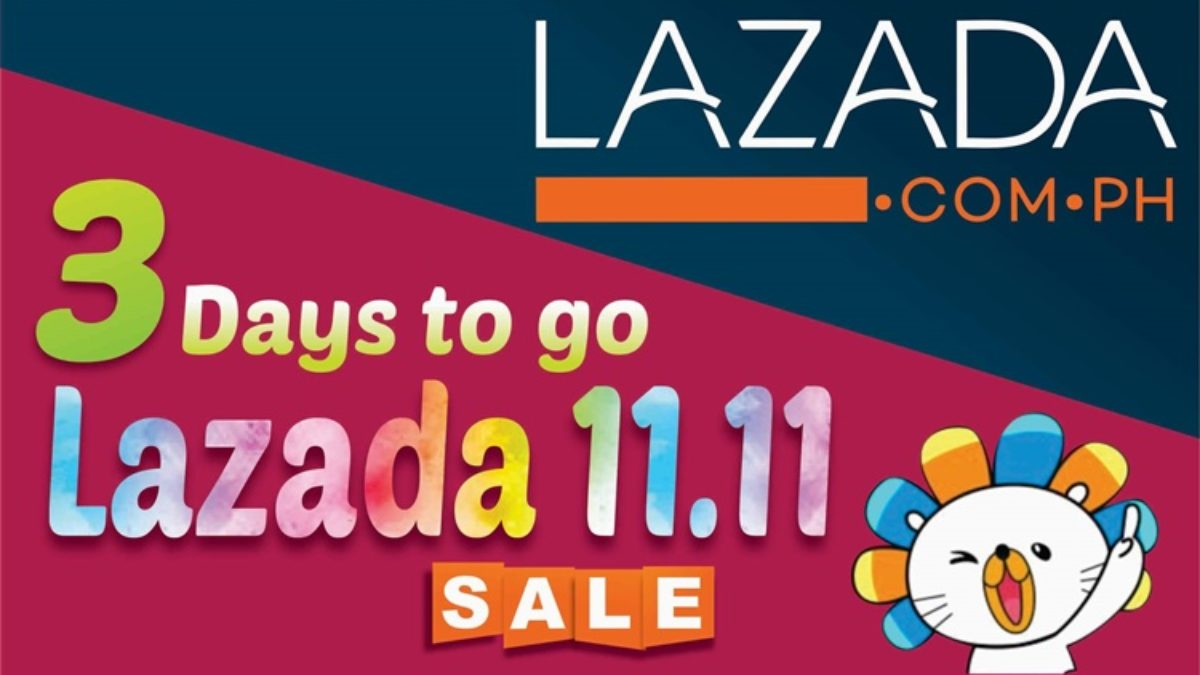 Lazada 11.11 Sale: 3 Days To Go Before