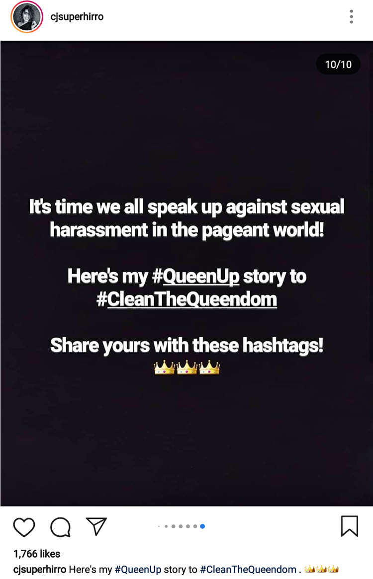 Pageant Harassment