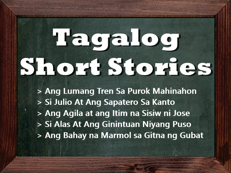 Tagalog Short Stories