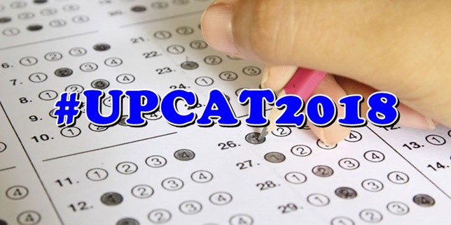 UPCAT 2018 Takers