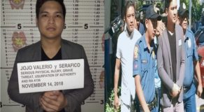 Road Rage Suspect Jojo Valerio's Mugshots & Video Footage During Arrest