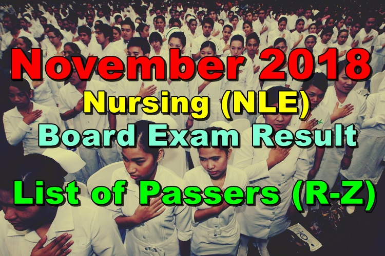 Nursing Board Exam Result