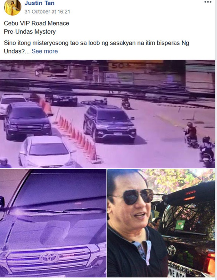 Philip Salvador hit-and-run