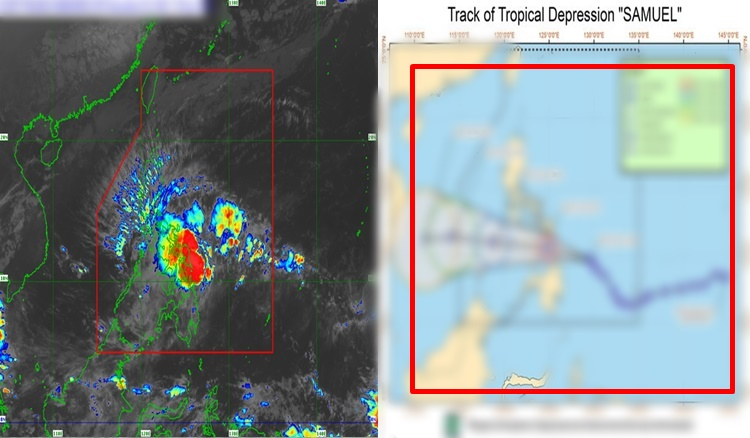 Tropical Depression Samuel