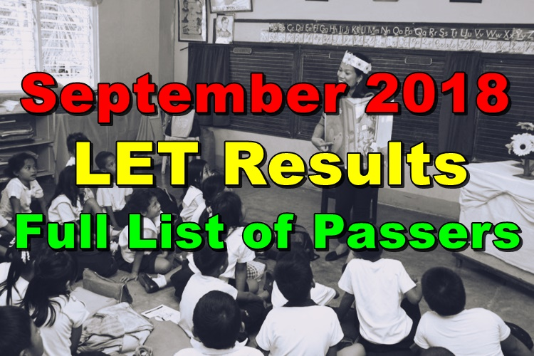 LET Passers