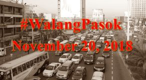 #WalangPasok: Suspension Of Classes, Work In Gov't. Offices On November 20