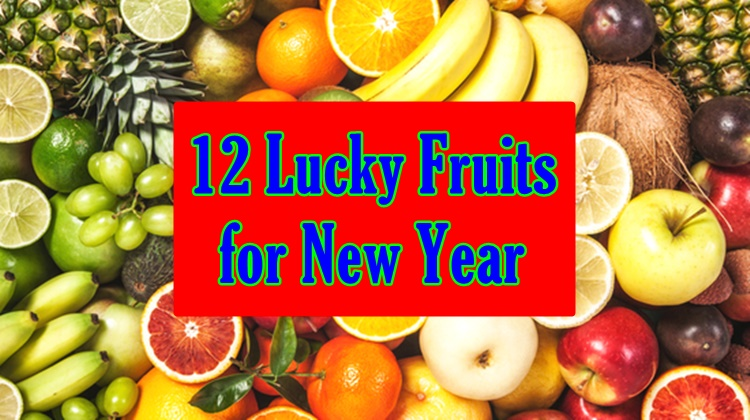 12 lucky fruits