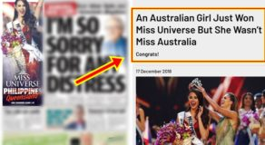 Australian Media Ignites Issue After Catriona Gray Won Miss Universe 2018