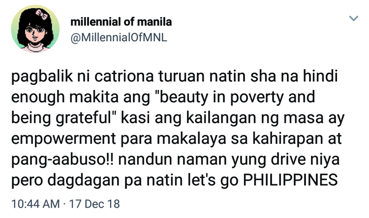 Catriona Gray Winning Answer