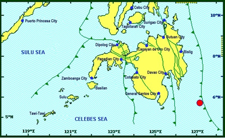 Earthquake in Davao Oriental