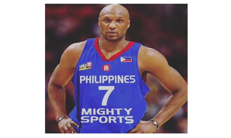 Lamar Odom To Play For Philippines in Dubai Tournament f309035ef