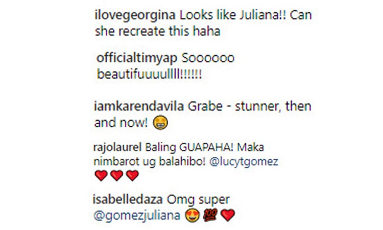 Lucy Torres celebrity comments