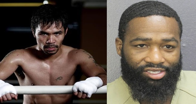 Manny Pacquiao on Adrien Broner