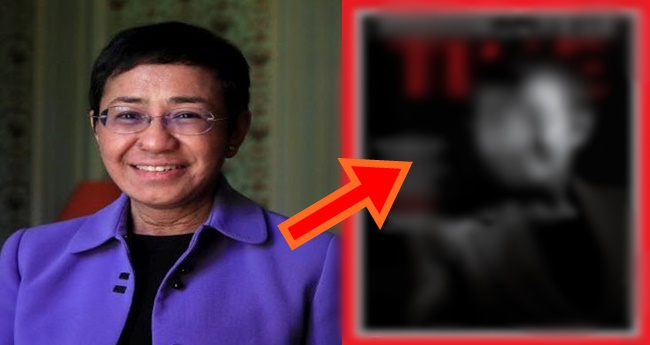 Maria Ressa Person of the year 2018
