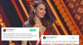 Miss Universe 2018 Catriona Gray Received Messages From Famous Celebrities After Winning