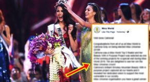 Miss World Reacts To Catriona Gray's Win As Miss Universe 2018