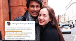 Richard Gomez Message For Lucy Torres Captures Numerous Hearts