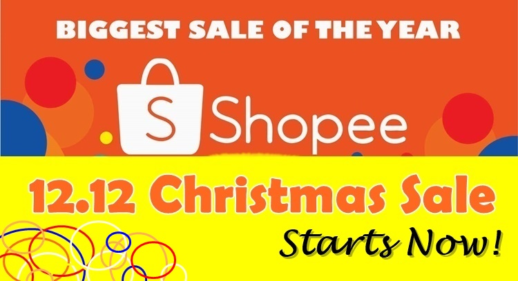 Shopee 12.12 Christmas Sale Starts Now