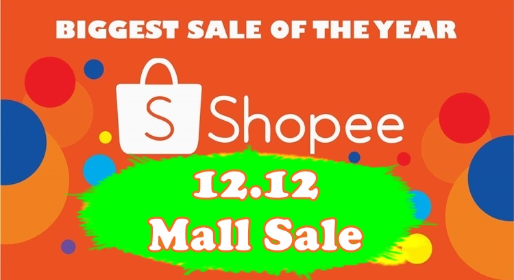 Shopee 12.12 Mall Sale December 3, 2018