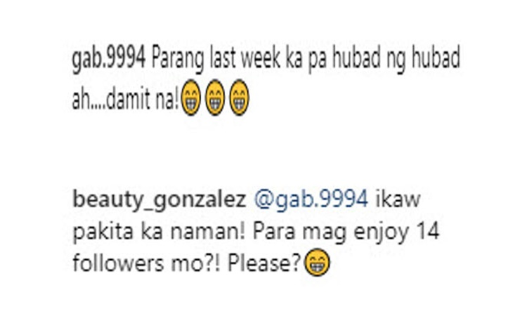 Beauty Gonzales Slams Bashers Comment About Her Daring Photo