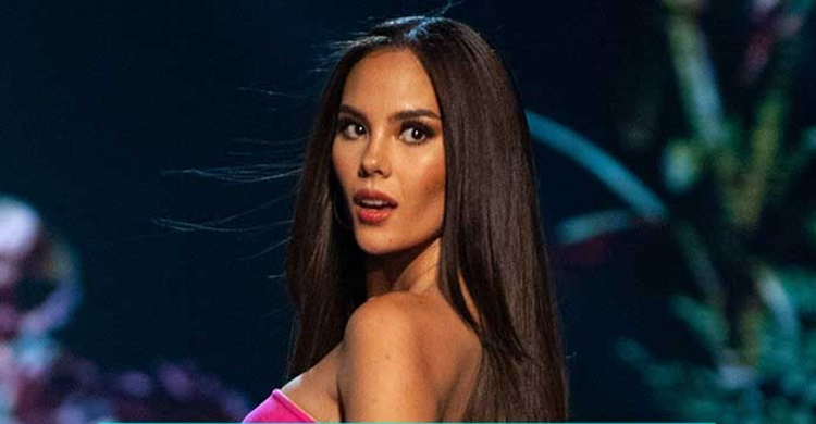 Slow-mo turn of Catriona Gray funny reactions