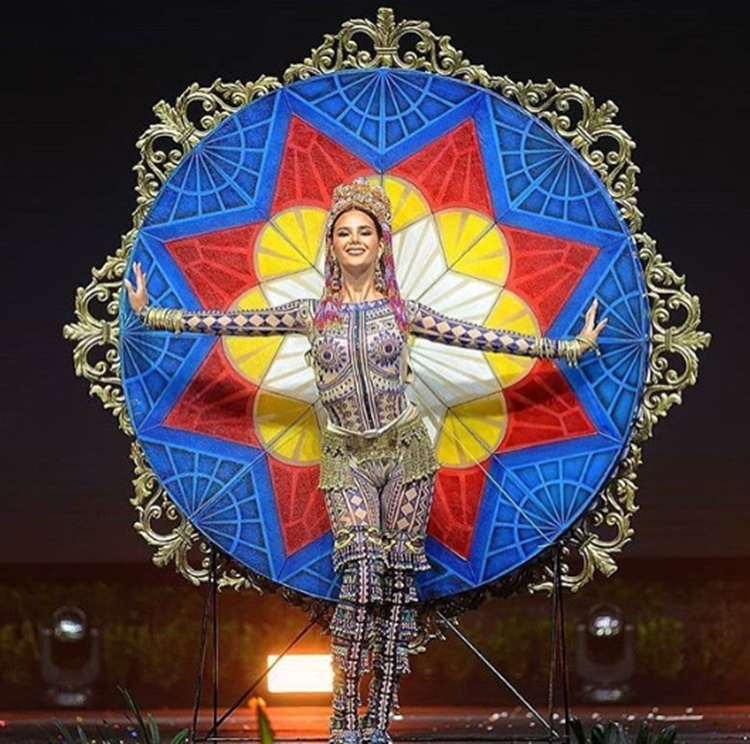 Catriona Gray Miss Universe 2018 National Costume