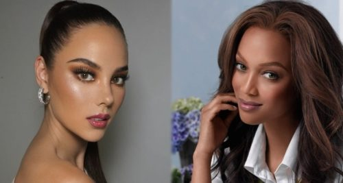 catriona gray tyra banks